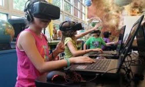 Future of education 3d immersive technology virtualization
