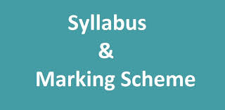 Syllabus and Marking System