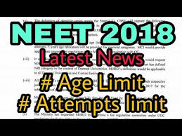 Information on NEET 2018